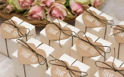 Cadeaux d'invités personnalisés