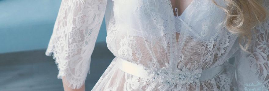Sa lingerie de mariage